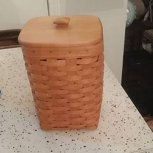 Longaberger Mini Waste Basket,